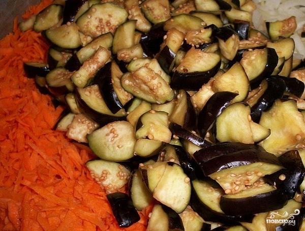 Салат с бобами на зиму - фото шаг 4