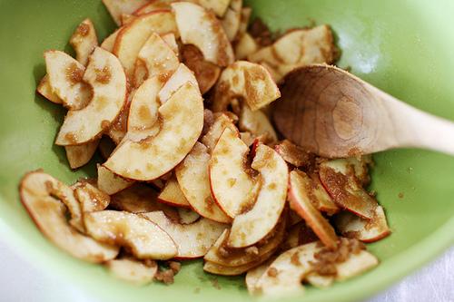 Рецепт Cлойки с яблоками из бездрожжевого теста