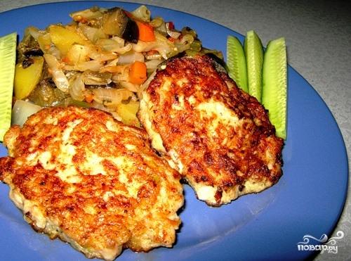 Рецепт Рубленые котлеты из курицы