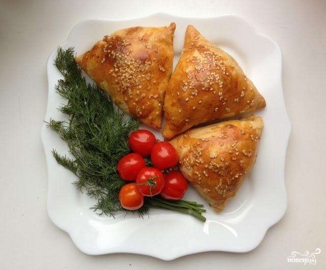 Рецепт Самса с бараниной
