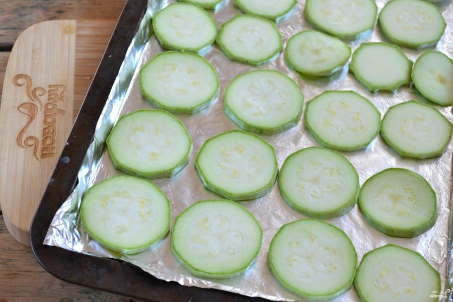 Кабачок с сыром и помидорами в духовке рецепт