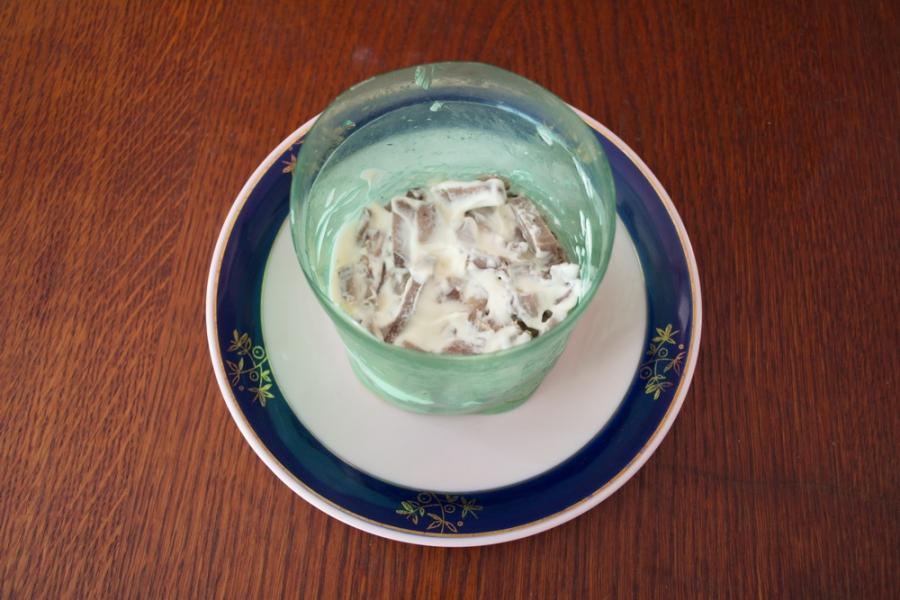 Салат легкий и вкусный - фото шаг 2