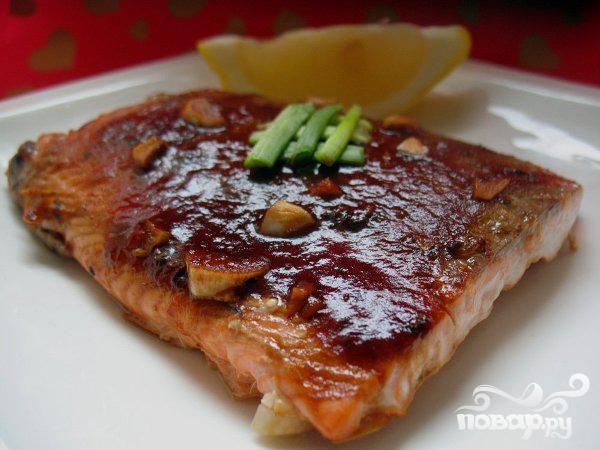 Рецепт Маринованная рыба с чили