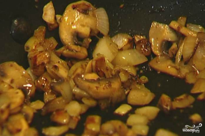 Котлеты из гречки с грибами - фото шаг 3