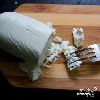 Салат с руколлой, луком, сыром и орехами - фото шаг 6