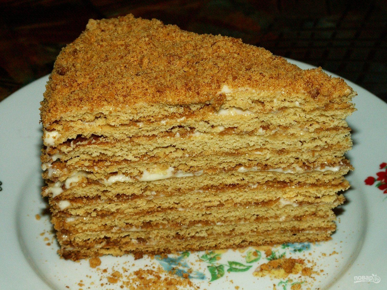 Торт Рыжик - рецепт с фото пошагово 13