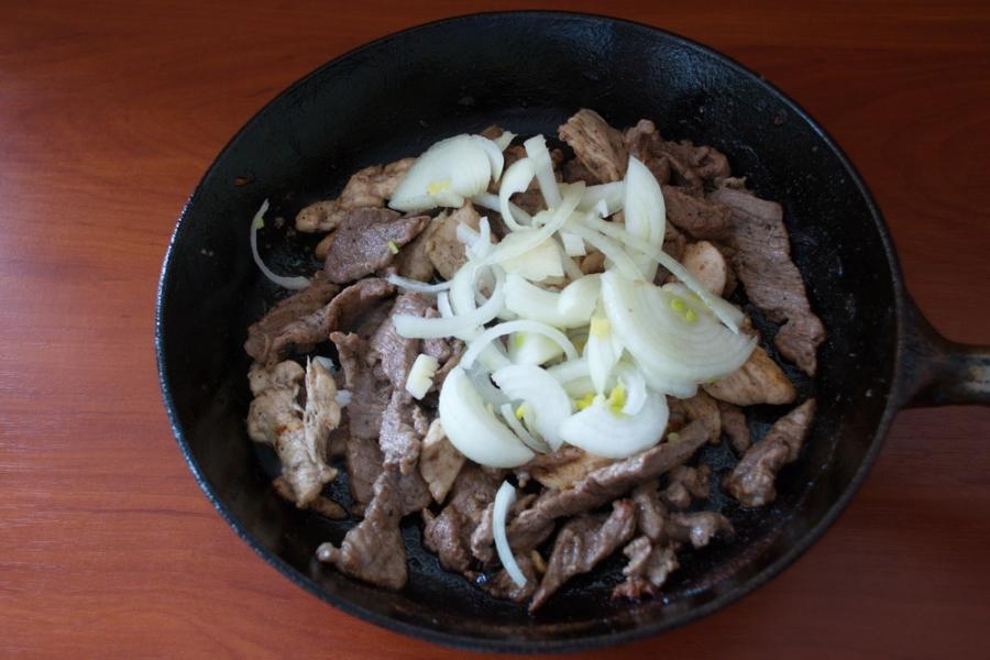 Картофельное рагу с мясом - фото шаг 6