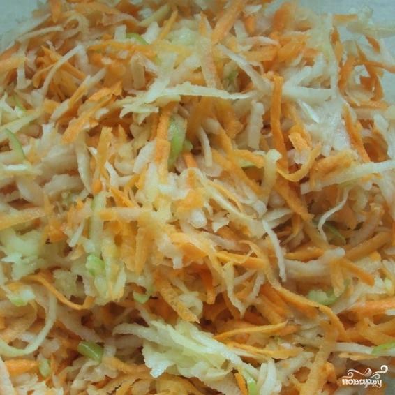 Салат из топинамбура - фото шаг 6