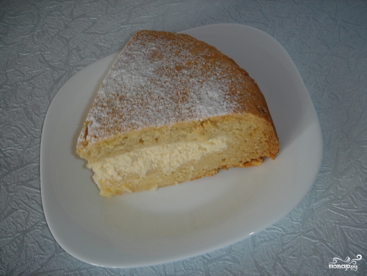Простой творожный пирог - фото шаг 4