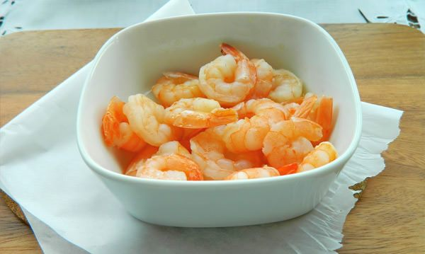 Рецепт Ризотто с креветками и сливками