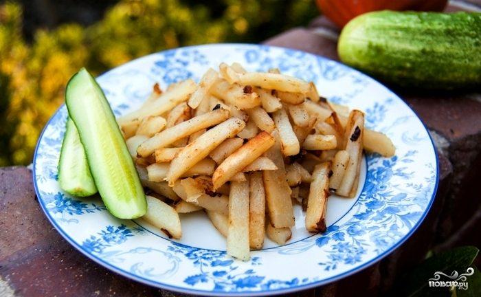 Картофель жареный