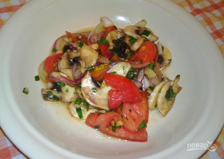 Салат с барбарисом - фото шаг 9