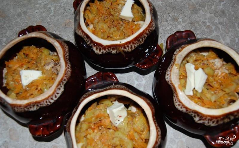 Жаркое в горшочке с картофелем - фото шаг 10