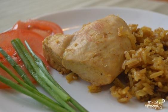 курица с рисом простой рецепт