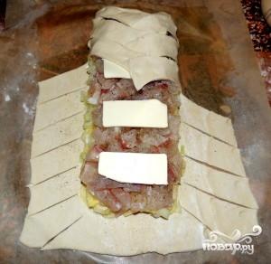 Пирог со щукой - фото шаг 8