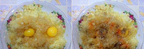Картофельные зразы с сосиской - фото шаг 3