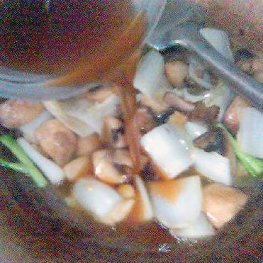 Спаржа с тофу в устричном соусе - фото шаг 7