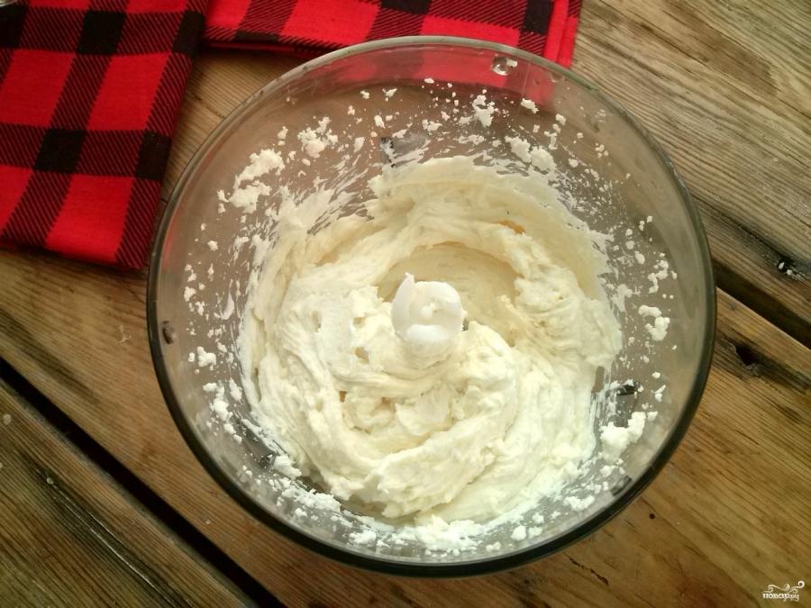 Творожно-малиновый десерт - фото шаг 3