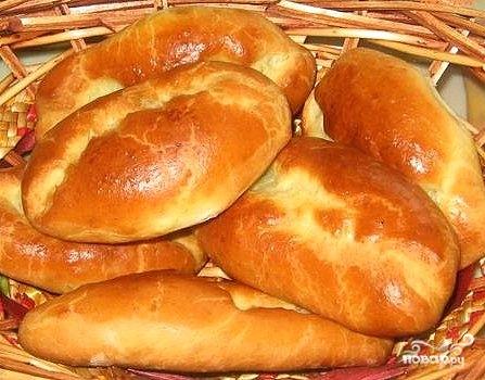 Печеные пирожки с яблоками - фото шаг 9