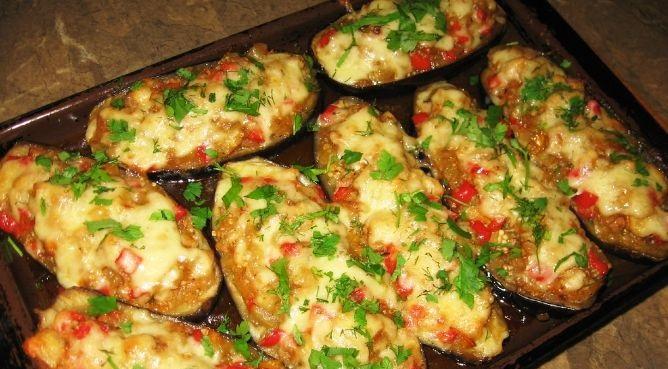блюда из баклажанов с мясом в духовке рецепты