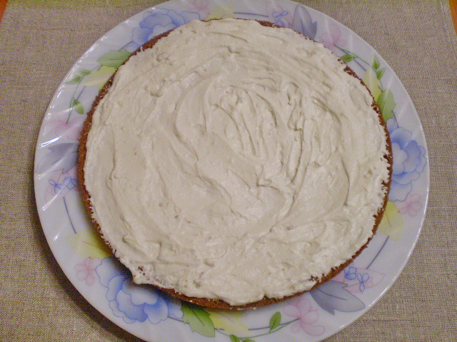 Торт с ягодами - фото шаг 9