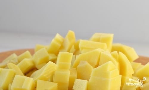 Картофельный суп с яйцом - фото шаг 1