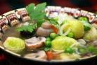 Овощной суп без картошки