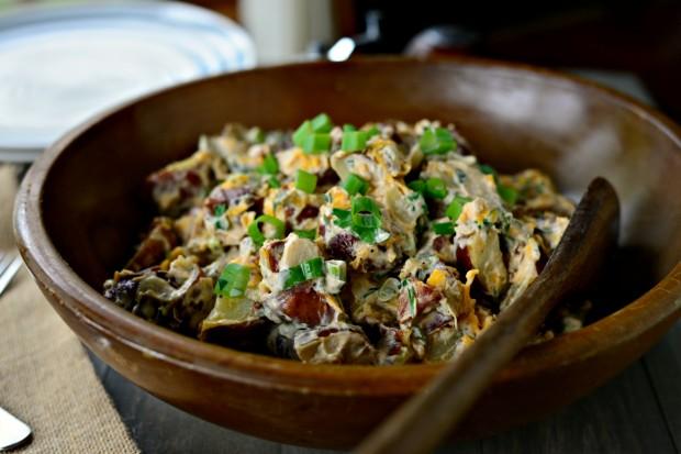 Салат с запеченным картофелем - фото шаг 14