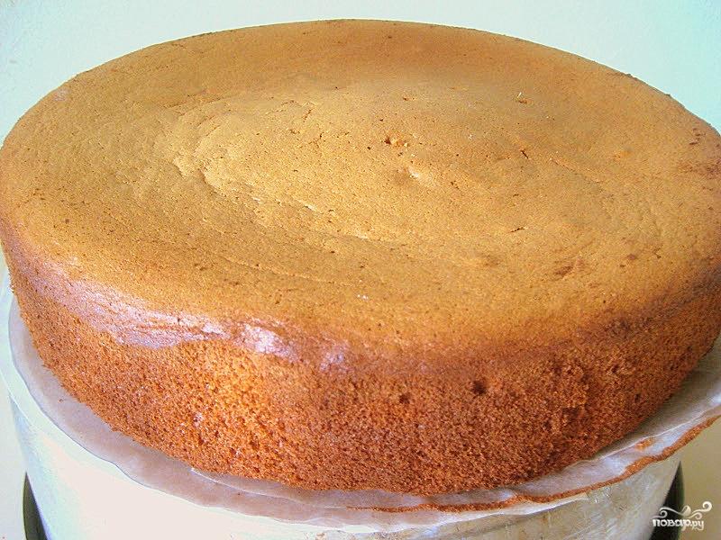 Бисквитное тесто обычное - фото шаг 4