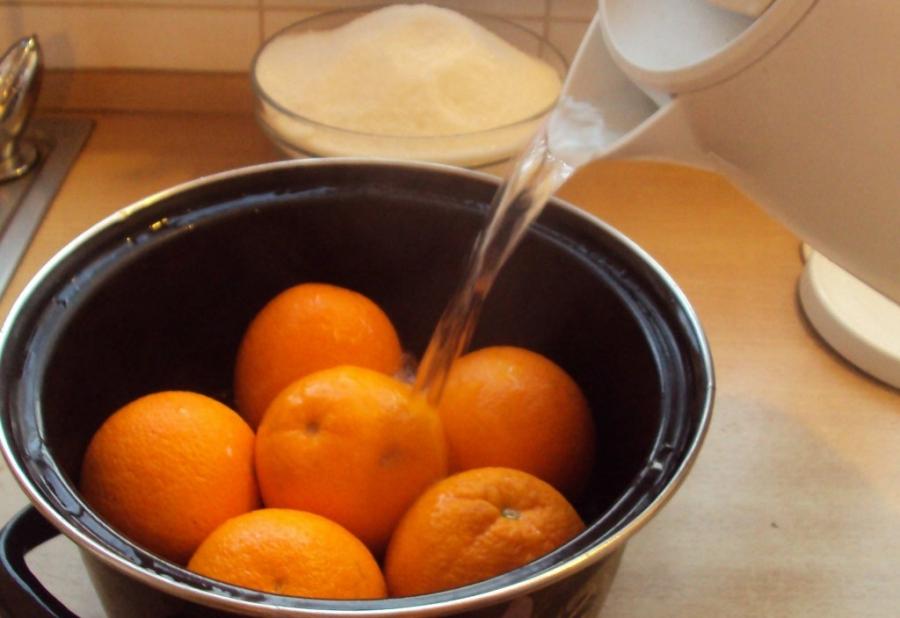 Варенье из апельсинов с кожурой - фото шаг 2