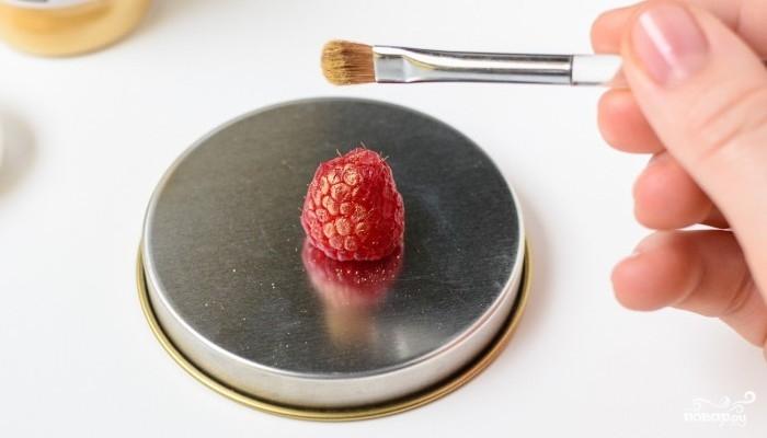 Шоколадный пирог с малиной - фото шаг 10