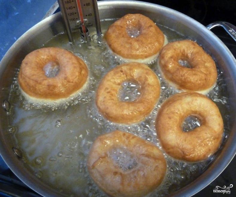 Пончики дрожжевые - фото шаг 3