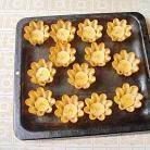 Рецепт Тарталетки с мясом, фруктами и сыром