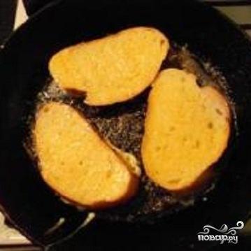 Горячие бутерброды под сыром - фото шаг 1