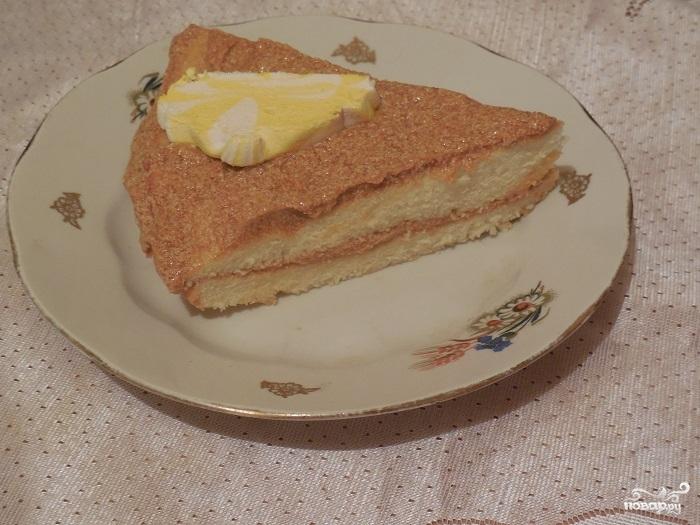Простой бисквита для торта - фото шаг 14