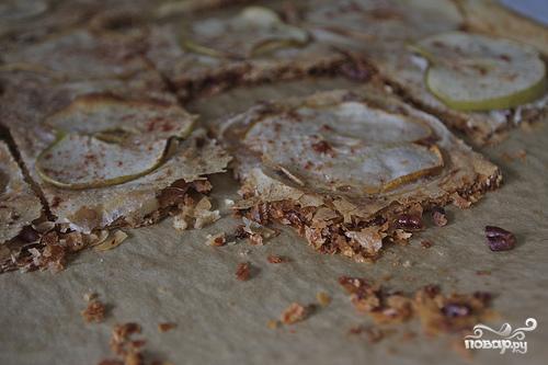 Пирог из теста фило с яблоками и грушами - фото шаг 6