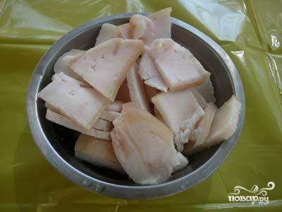 Шашлык из свиной печени - фото шаг 4
