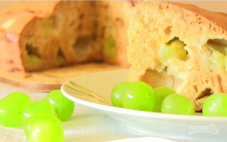Пирог с вишней на молоке рецепт с фото
