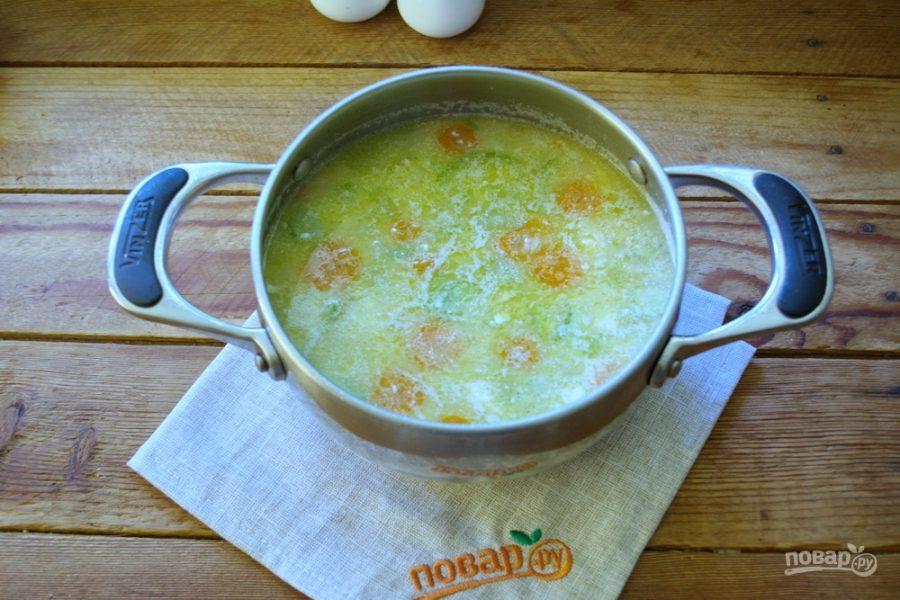 Рецепт крем супа из кабачков с фото пошагово