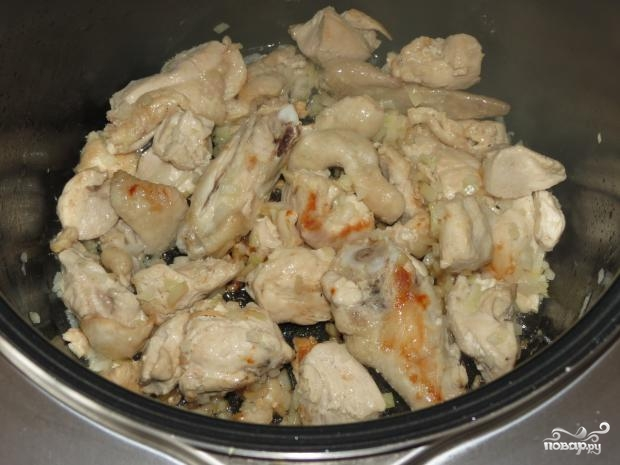 куриное мясо тушеное в мультиварке рецепты с фото