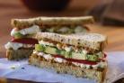 Калифорнийский сэндвич с киви
