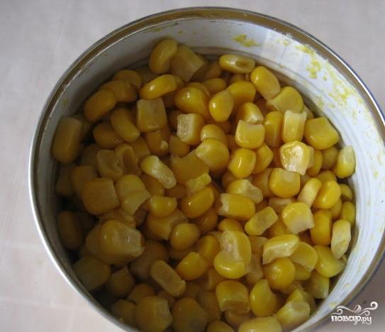 Салат из свежей капусты и крабовых палочек - фото шаг 5