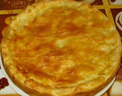 Пирог с ветчиной - фото шаг 4