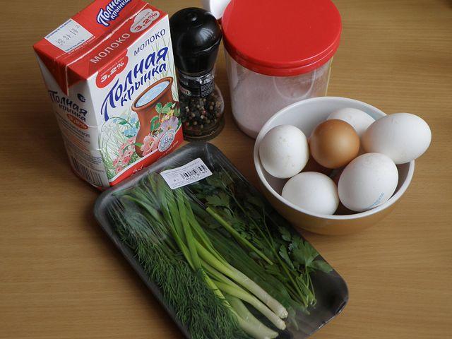 Рецепт Омлет без молока в мультиварке