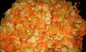 Бефстроганов из соевого мяса - фото шаг 6