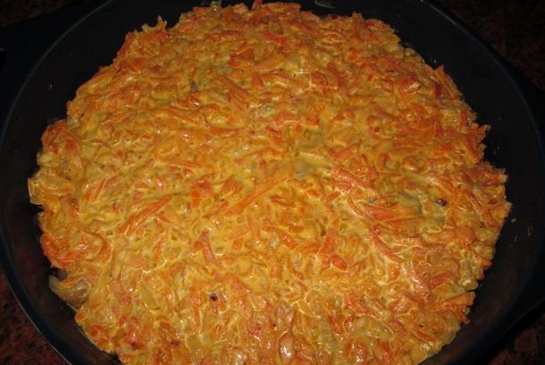 рецепт минтая в сметанном соусе в духовке