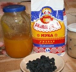 Рецепт Квас из ржаной муки