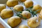 Картошка, запеченная в соли