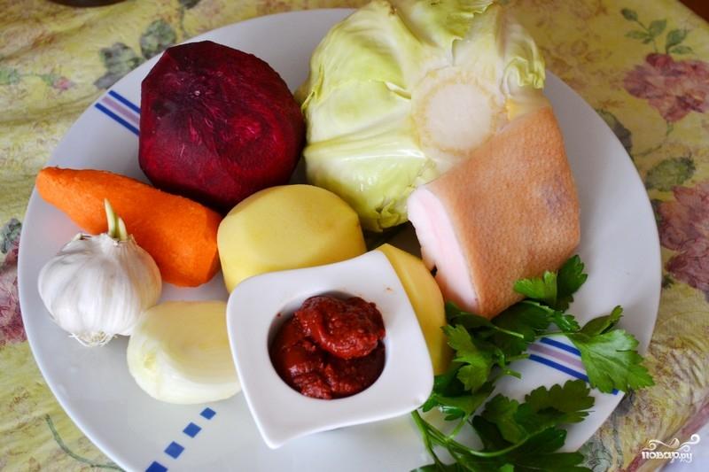 Рецепт Борщ из кролика