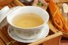 Зеленый чай с женьшенем